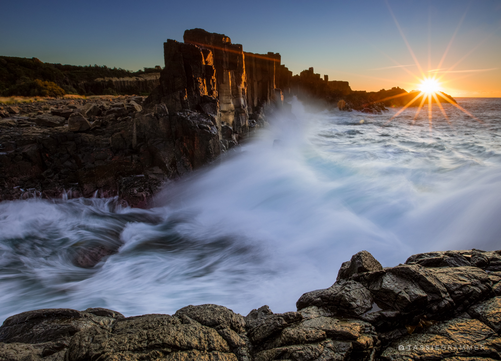 Bombo Quarry Sunrise